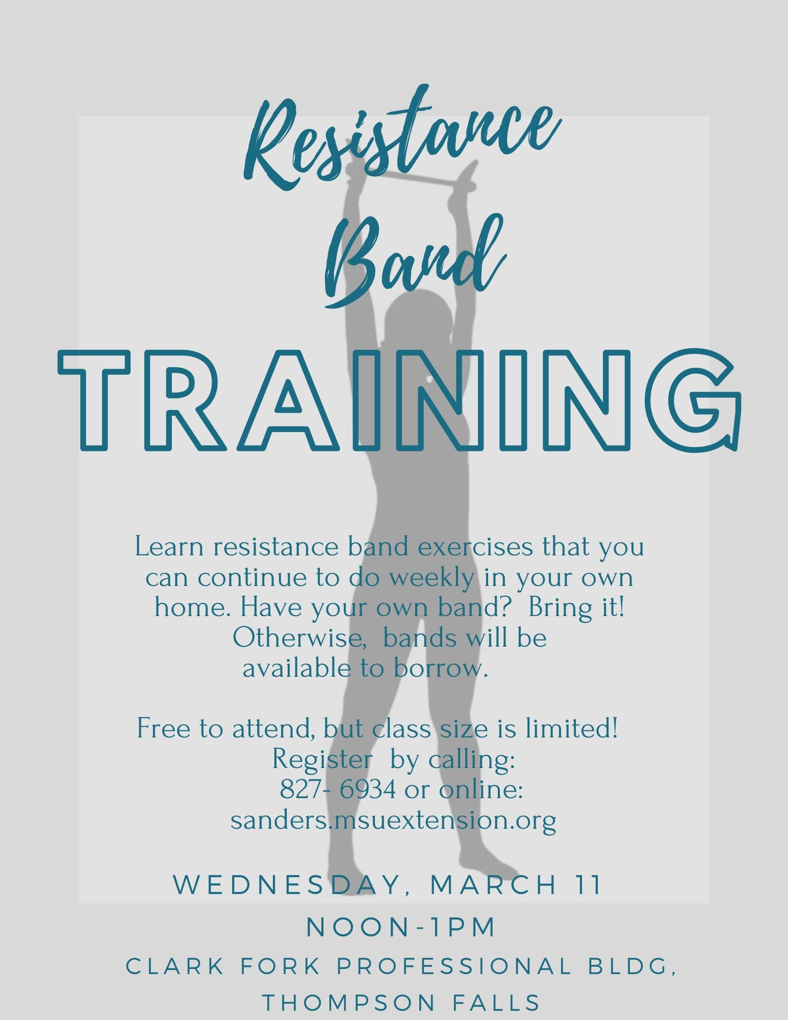 Resistance Band march 11